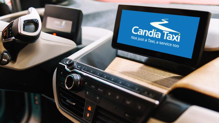 Διαφήμιση – Taxi AD Candia